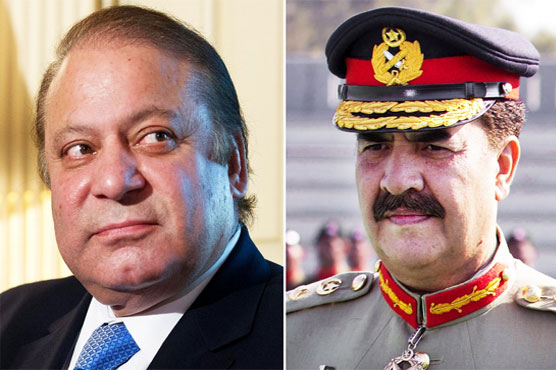 PM Nawaz, Army Chief to visit Quetta today