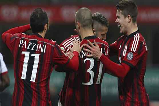 9c23a91c7 Football  Menez at the double as Milan beat Cagliari