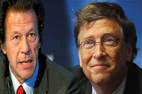 Bill Gates Polio Bill Gates Lauds Imran Khan
