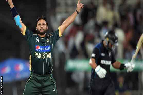 Shahid Afridi to quit all cricket next year