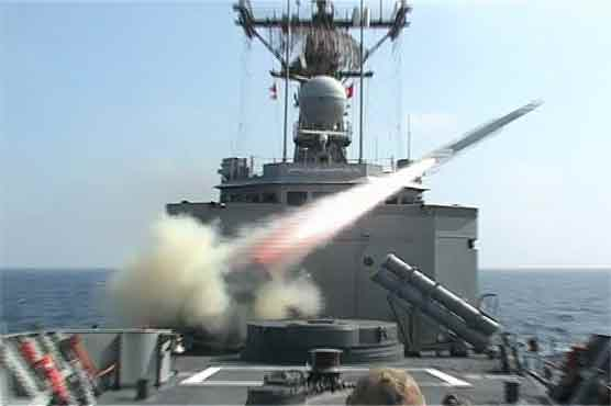 Pak Navy successfully fires Anti-Ship Guided Missile - Pakistan ...