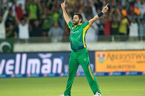 Afridi becomes highest wicket-taker in T20 internationals
