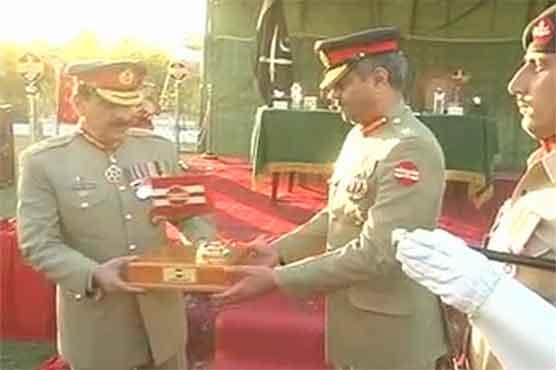 Southern headquarters command changed, farewell General Janjua
