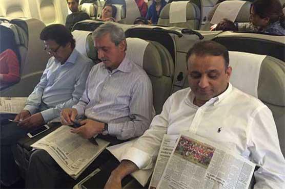 Imran, Ch Nisar board same flight to London