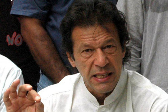Panama Leaks: Either have investigation under CJ, or face sit-in says Imran