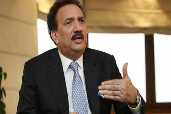 Rehman Malik leaves for London to discuss Panama leaks issue with Zardari