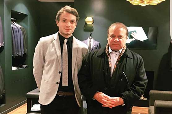 PM Nawaz spotted at Scabal Tailors in London