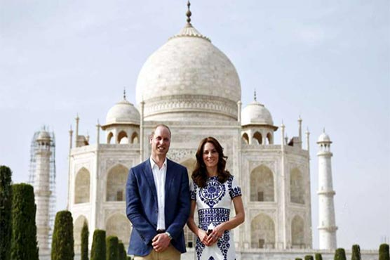 Will and Kate end India trip with historic Taj Mahal visit