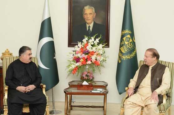 Balochistan to reap highest benefits from CPEC, PM tells CM Zehri