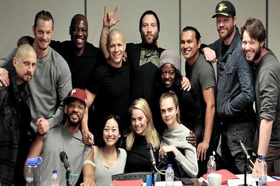 Cast of 'Suicide Squad' defend film after rotten reviews