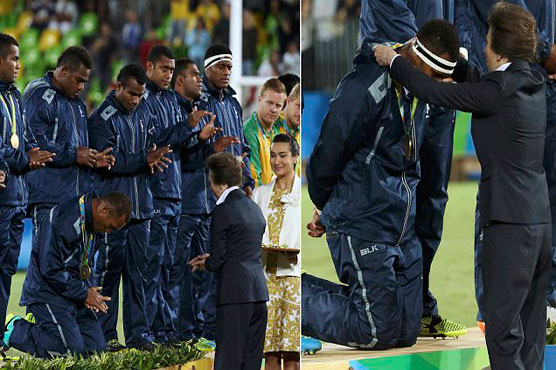 Fiji PM announces public holiday after first Games medal