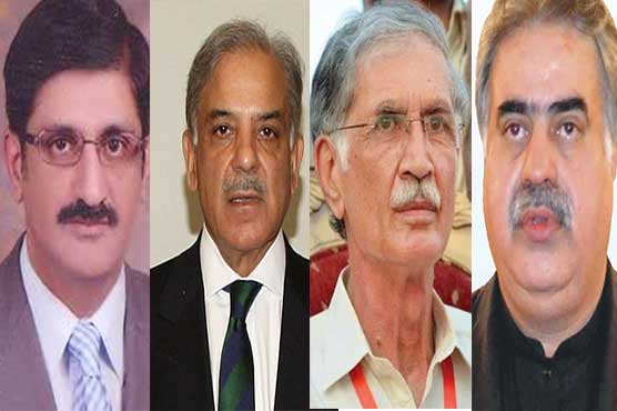 Provincial ministers determined for prosperity of Pakistan