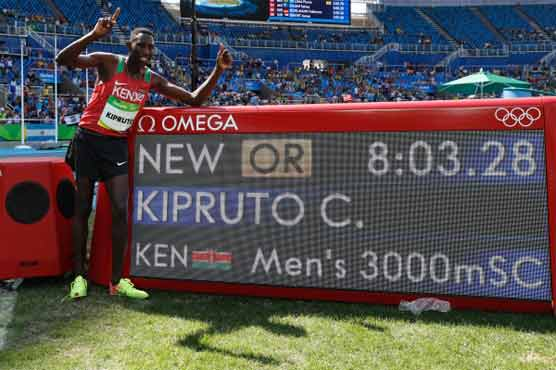 What's new? Kenya wins steeplechase, Eaton leads decathlon