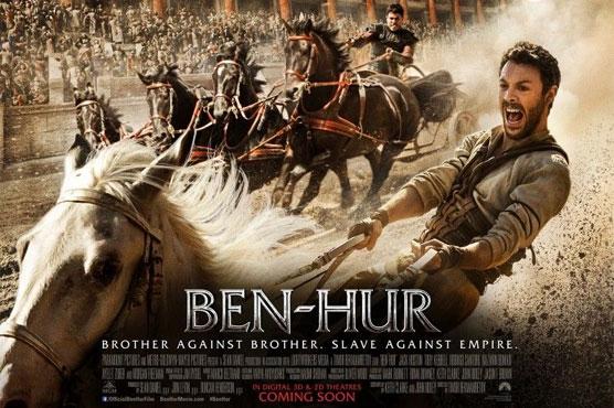 Studio praying wheels don't come off chariot epic 'Ben-Hur'