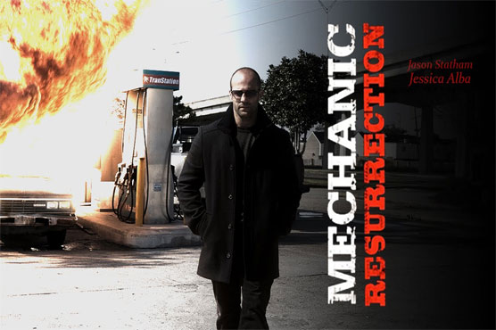 Jason Statham promises plenty of action in 'Mechanic: Resurrection'