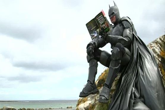 Batman suit boasting 23 gadgets earns Guinness World Record