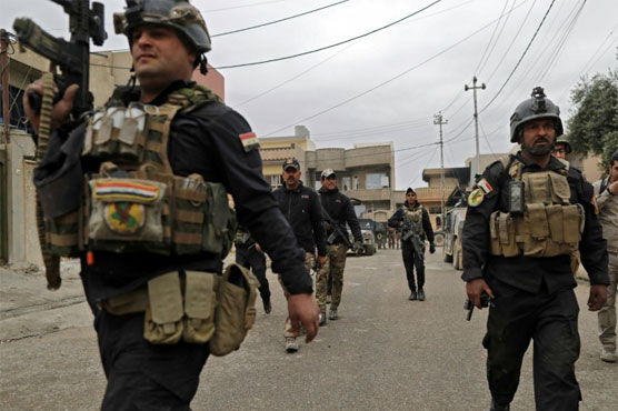 IS launches overnight attack against Iraqi troops in Mosul