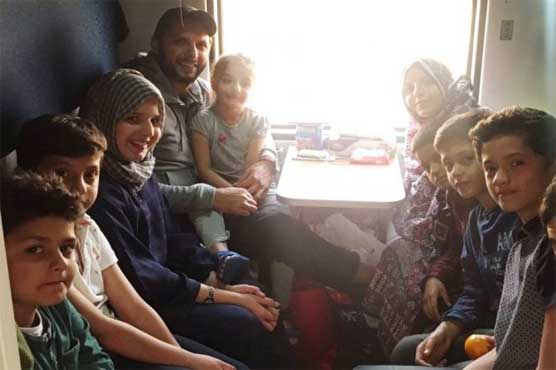 Afridi takes the train after 24 years and loves it
