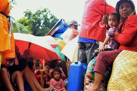 Typhoon Nock-Ten kills four in the Philippines