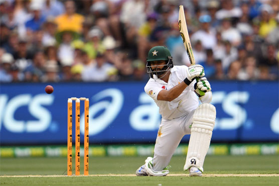 Azhar's ton for Pakistan amid rain in Australia Test