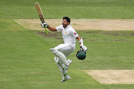 Azhar's ton lifts Pakistan to 232-4 at lunch
