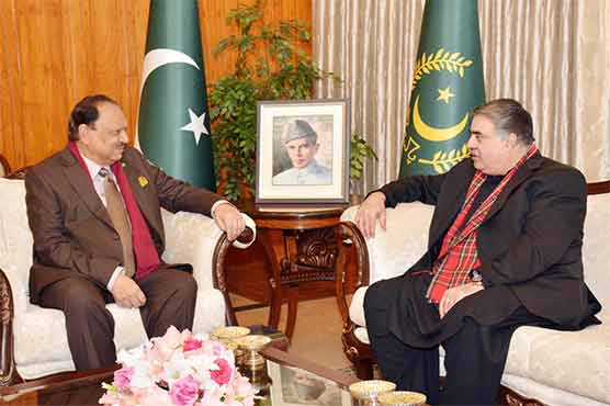 CM Balochistan meets President, briefs over province's situation