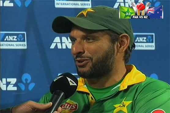 Afridi holds batsmen responsible for defeat