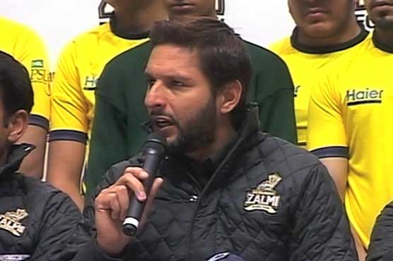 Afridi to take 150 APS students to Dubai for PSL inaugural ceremony