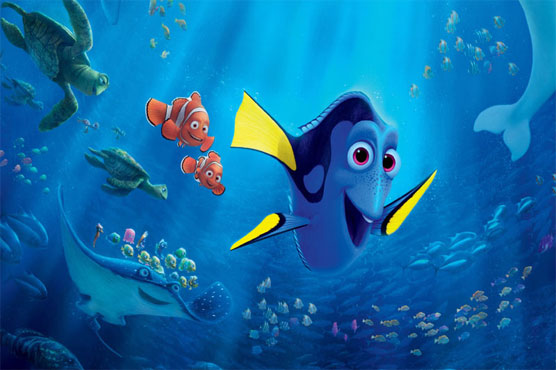 'Finding Dory' sinks competition at box office for third week