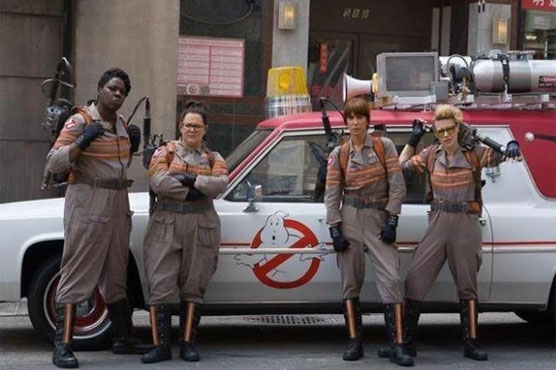 New 'Ghostbusters' cast shakes off criticism to revive classic story