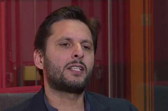 Pakistan lacks talent, says Shahid Afridi