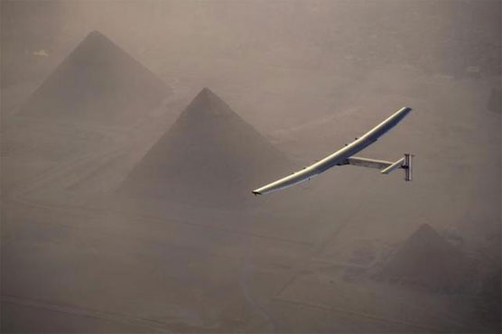 Solar Impulse 2 closes in on circumnavigation with Cairo arrival
