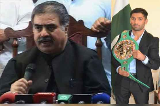 CM Balochistan announces Rs 0.5 million and house for Boxer Waseem
