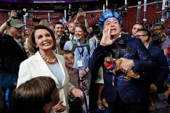 Hollywood stars hold climate rally ahead of DNC