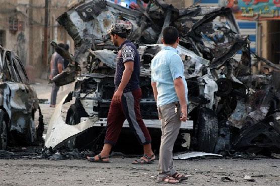 Car bombing in Iraqi capital kills at least 15 civilians