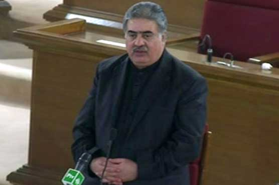 Balochistan's fiscal budget worth Rs 289 bn presented in assembly