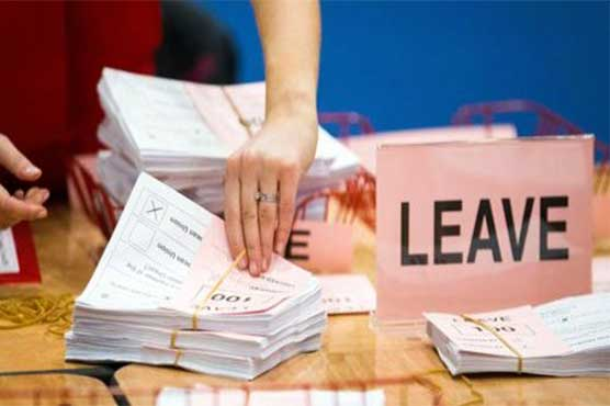 Britain votes to leave European Union by 51.9%: final result