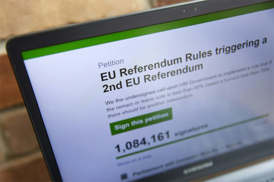Two million sign UK petition for second EU vote