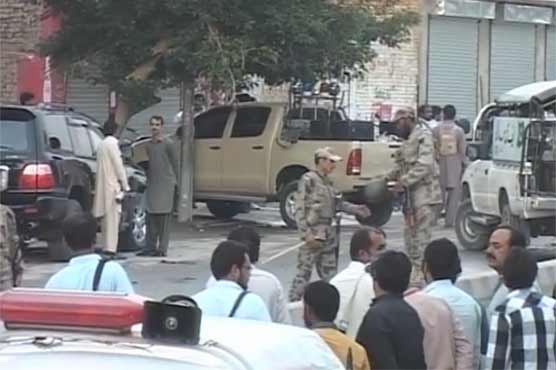 Quetta: Firing at Double Road results in martyrdom of 4 FC officers