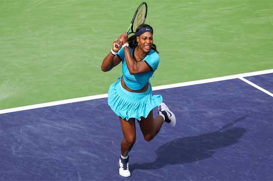 Serena steps up her bid to wear first Indian Wells crown