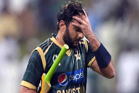 World T20 warm-up: Afridi goes for a duck again