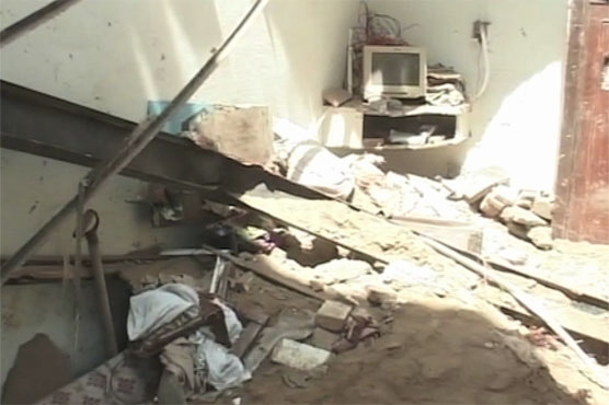 One dead, three injured in Faisalabad roof collapse