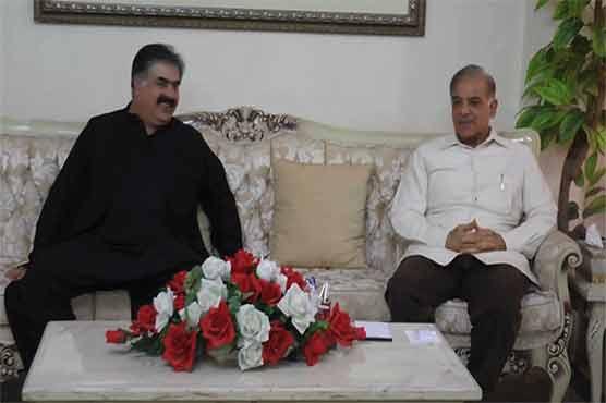 Lahore: Punjab CM meets Balochistan counterpart