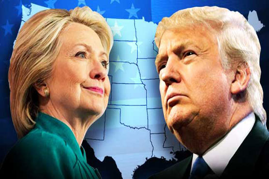 Americans split between choice of Donald Trump or Hillary Clinton
