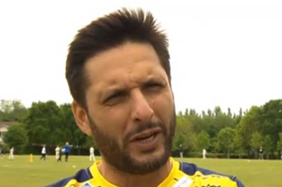I'm available if team need me for England series: Shahid Afridi