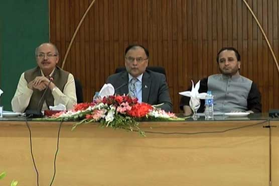 Ahsan Iqbal, Balochistan CM trade barbs in APCC meeting