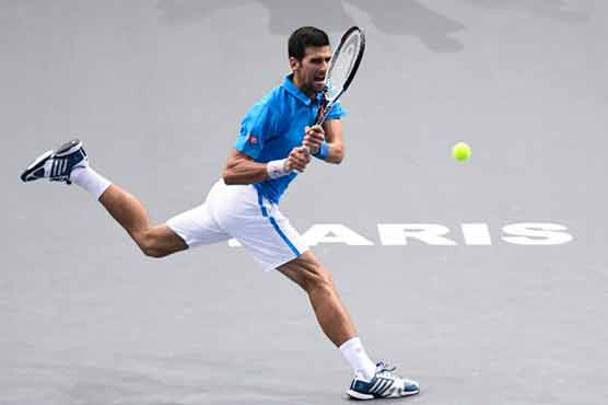 Novak Djokovic beats Gilles Muller on return at Paris Masters