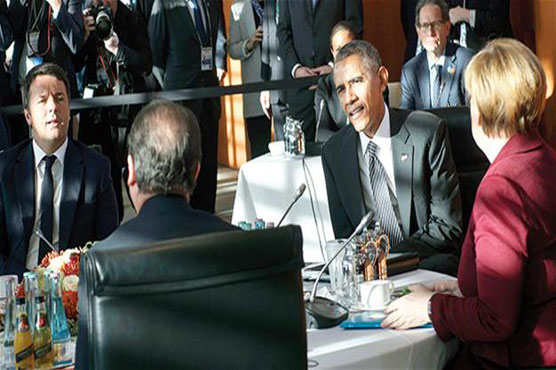 Obama, European leaders focus on Syria, Ukraine