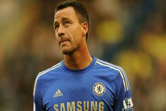 Terry out for two weeks