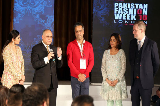 Pakistan High Commissioner to UK commends work of PFW's designers